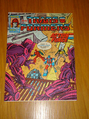 Transformers British Weekly #164 Marvel Uk Comic 1988