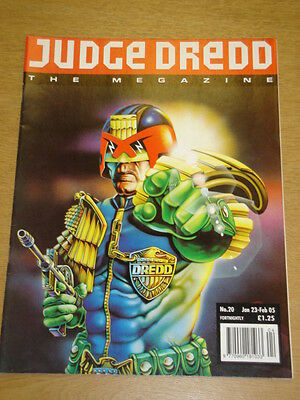 2000Ad Megazine #20 Vol 2 Judge Dredd*