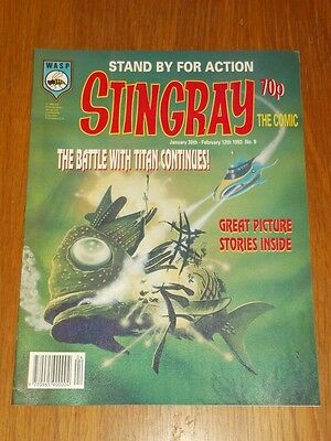 Stingray #9 30Th January - 12Th February 1993 Wasp British Comic