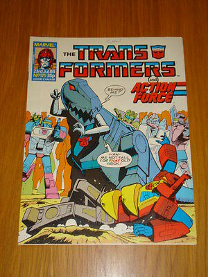 Transformers British Weekly #175 Marvel Uk Comic 1988