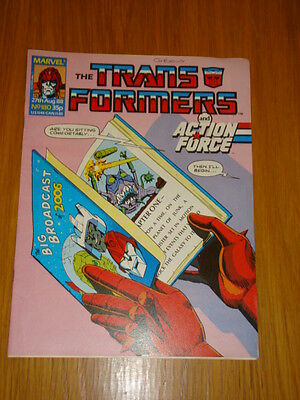Transformers British Weekly #180 Marvel Uk Comic 1988