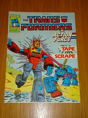 Transformers British Weekly #195 Marvel Uk Comic 1988