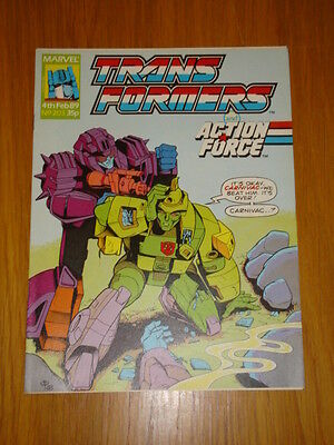 Transformers British Weekly #203 Marvel Uk Comic 1989