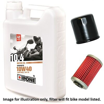 Yamaha XJ 550 J Maxim 1982 Semi Synthetic 10w40 Oil and Filter Kit