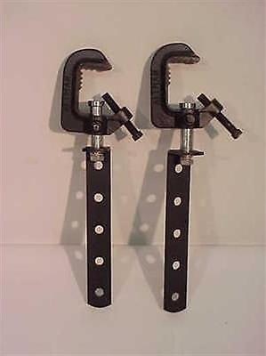 Altman 508 Hanging Arm and Clamp - Black ( 2 ea )