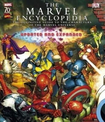 Marvel Encyclopedia by Hardcover Book (English)