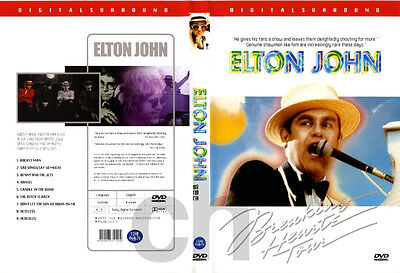 Elton John - Breaking Hearts Tour   DVD NEW