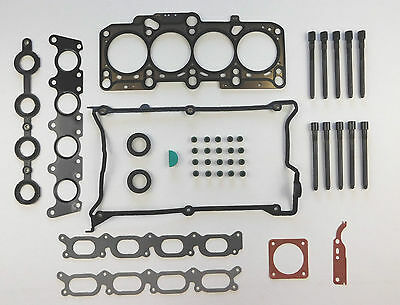 HEAD GASKET SET BOLTS S3 A3 A4 A6 TT BORA BEETLE GOLF PASSAT 1.8T 20V TURBO 94on