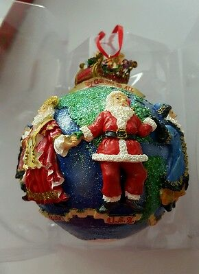 CHRISTOPHER RADKO CHRISTMAS ORNAMENT RARE COLLECTIBLE, Merry Christmas to All
