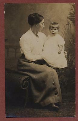 Young lady & child.  pq129