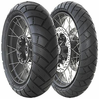 BMW F 650 GS Dakar 2001 TrailRider Tyre Pair 90/90-21 130/80-17