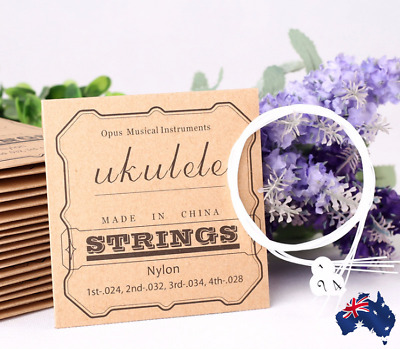 Ukulele Strings Set  - Nylon Strings  NEW