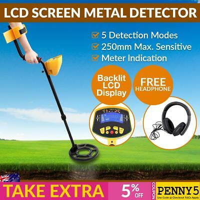 Deep Sensitive Searching Metal Detector Gold Silver Iron Digger LED Readout