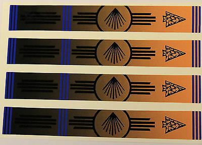 "0906 VINYL HD ARROW WRAPS NATIVE 1"" WIDE 7"" LONG (12 Pack)"