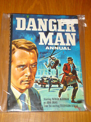 Danger Man World Distributors British Annual 1965 Fn/vf