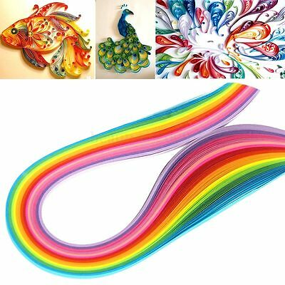 160 Stripes 22 Colors Paper Quilling Template Board Papercraft Tool Scrapbooks