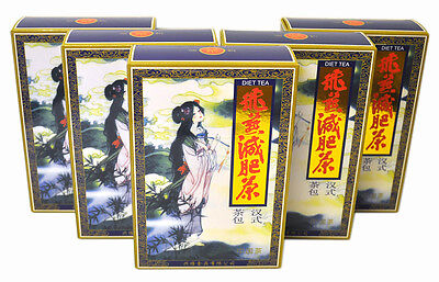 10 Packs Fei Yan Feiyan Slimming Tea Lose Weight 200 Tea Bags Green Tea Version