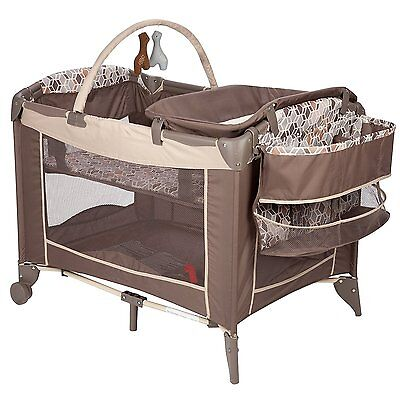 Pack N Play Playard Playpen Bassinet Baby Crib Diaper Changer New