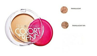 AVON COLOR TREND FINAL  PRESSED POWDER - 3 SHADES TO CHOOSE FROM  New  * SALE *