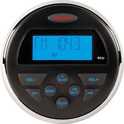 Jensen MS30/MS30RTL Compact Waterproof MP3 Player Stereo Boat SSV UTV ATV