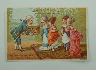 B.T. Babbitt's Soap  Trade Card 6290