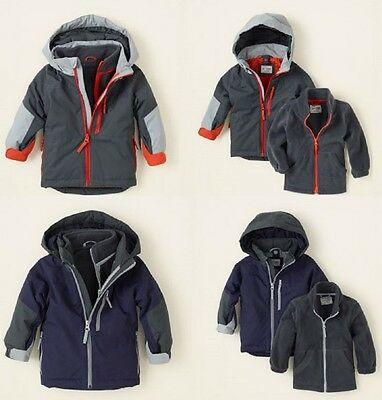 Childrens Place 3 In 1 Hooded Coat & Jacket ~ Pick Your Size & Color ~ NWT