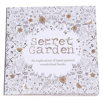 Hot 20 Pages Secret Garden Series Inky Treasure Hunting & Coloring Book Gifts JJ