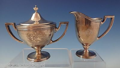 Hamilton aka Gramercy by Tiffany & Co. Sterling Silver Sugar & Creamer 2pc #0948