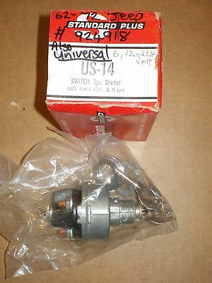 Nors Standard Us14 4 Position Universal Ignition Switch