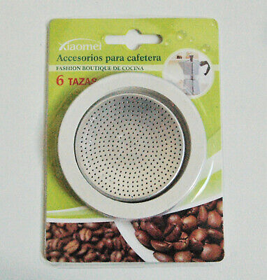 3 Joints + Filtre Cafetiere Italienne 6 Tasses Dimensions Dans Le Descriptif