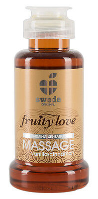 Olio per massaggio erotico Swede Fruity Love Vanilla Massage Oil 100 ml