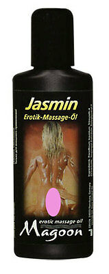 Olio per massaggio erotico Magoon Jasmin Sensual Massage Oil 50 ml