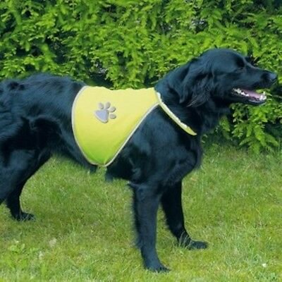 Reflective Dog Safety Vest Hi Viz Yellow