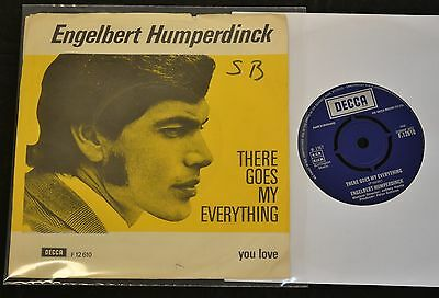 UK PICTURE SLEEVE Engelbert Humperdinck Decca 12610 There Goes My Everything