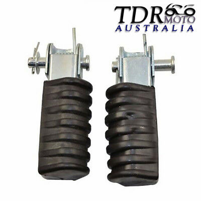 1 x PAIR FOOT FOOTREST PEGS ASSEMBLY FOOTPEGS For YAMAHA PW80  PY80 PEEWEE 80