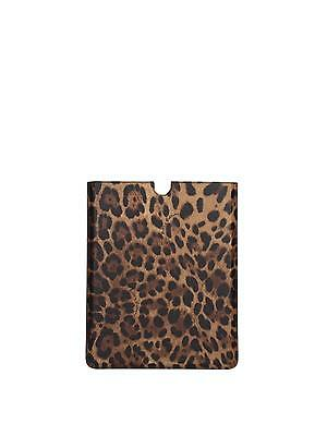 iPad Cases Dolce&Gabbana Women Leather Brown