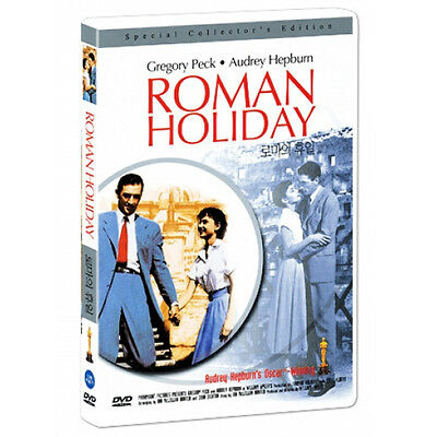 Roman Holiday (1953) DVD - Gregory Peck, Audrey Hepburn *New *Sealed *All Region