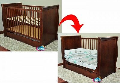 Cot/Junior Bed SARA  + choice to mattress Cots for babies