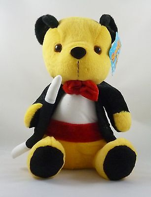 10 Inch Sooty And Friends Dressed Soft Plush Toys - Magician Sooty (PL90)