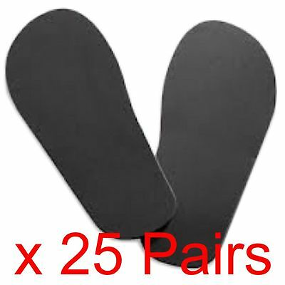 25 Pairs Of Disposable Sticky Feet For Sun Beds & Tanning etc