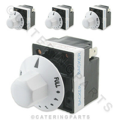 PACK 4 x BACKER ELECTRIC 13A SIMMERSTAT ENERGY REGULATORS FOR HEATING ELEMENTS
