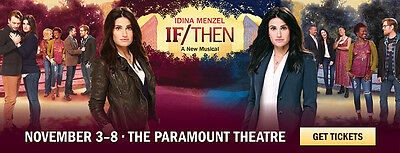 If/Then Tickets  Paramount Theatre Seattle 11/7/2015