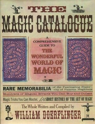 The Magic Catalogue: A Guide To the Wonderful World of Magic (1977 Oversized)
