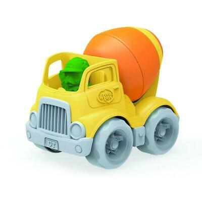 Green Toys Mixer Vehicle, Yellow/Orange