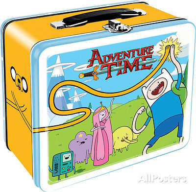 Adventure Time Lunch Box Metal Collectible - 8x7