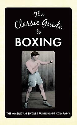 Classic Guide to Boxing by Walt Underwood (English) Hardcover Book Free Shipping