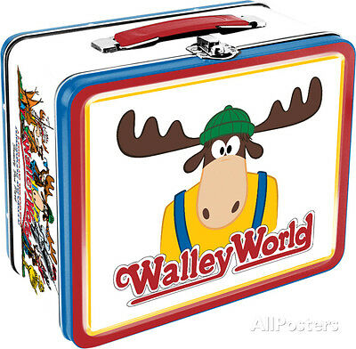 National Lampoon's Vacation - Walley World Lunch Box Metal Collectible - 8x7