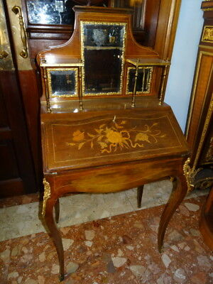Vintage French XVI Louis Bonheur Du Jour Ladies Desk Museum Quality