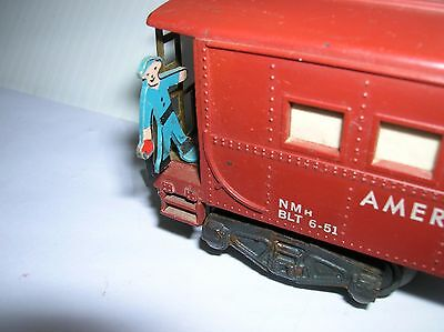 American Flyer #977 Caboose operating , used , no box lot # 6276