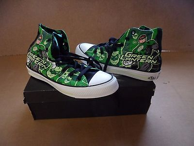 bec090f672b3 Converse DC Comics Green Lantern HI Top Chuck Taylor All Star Unisex Shoes